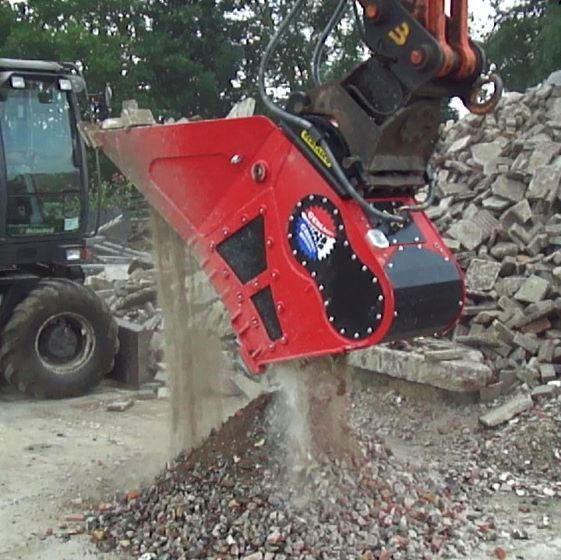 image Gerlasco Crusher Bucket, innovatie uit Nederland!